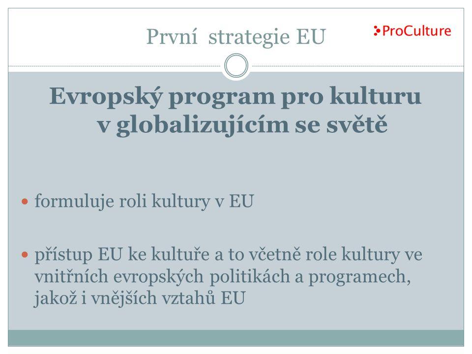 Evropský program pro kulturu v globalizujícím se světě