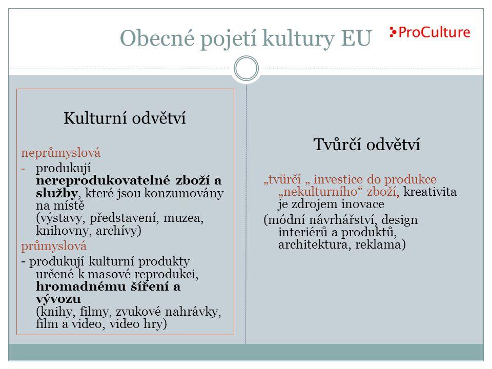 Obecné pojetí kultury EU