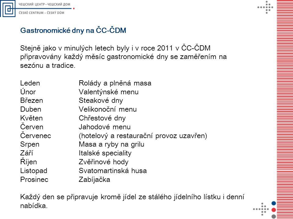 Gastronomické dny na ČC-ČDM