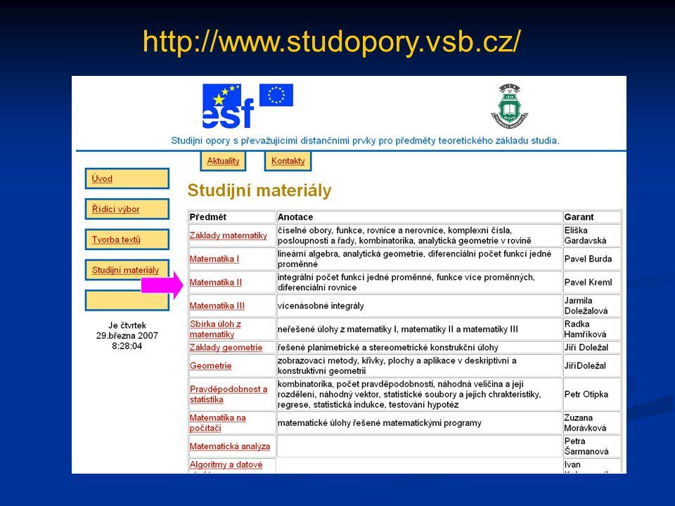 http://www.studopory.vsb.cz/ 2.2.3. Číselné množiny
