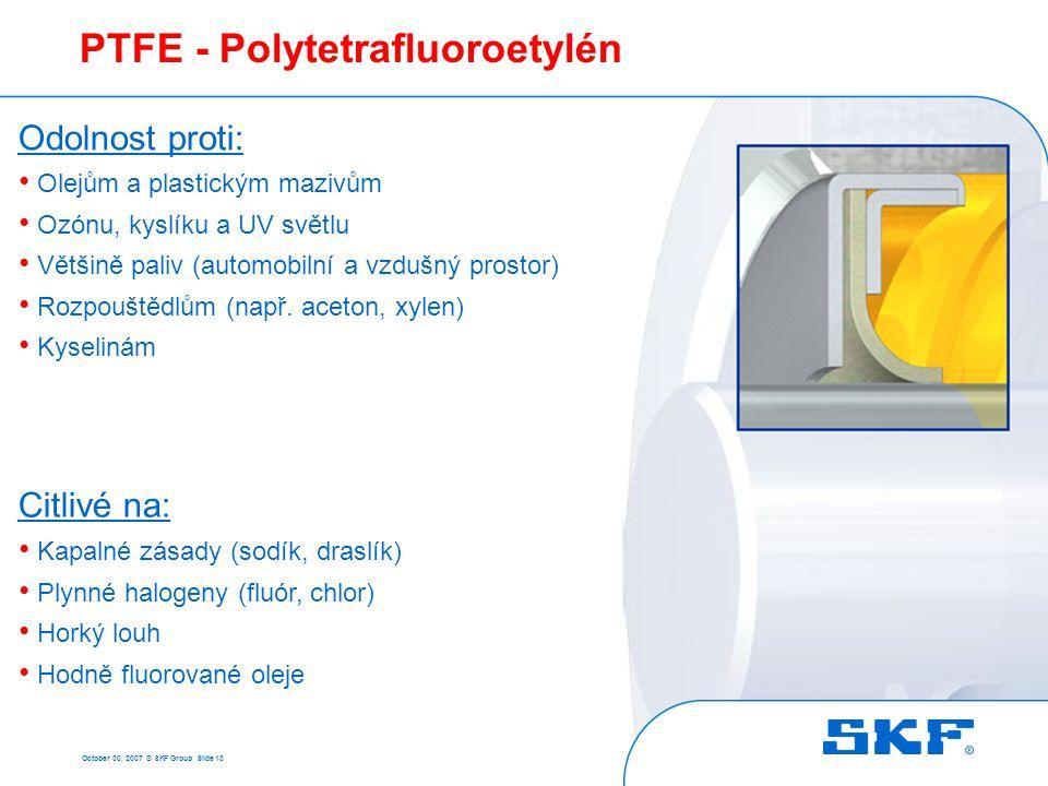 PTFE - Polytetrafluoroetylén