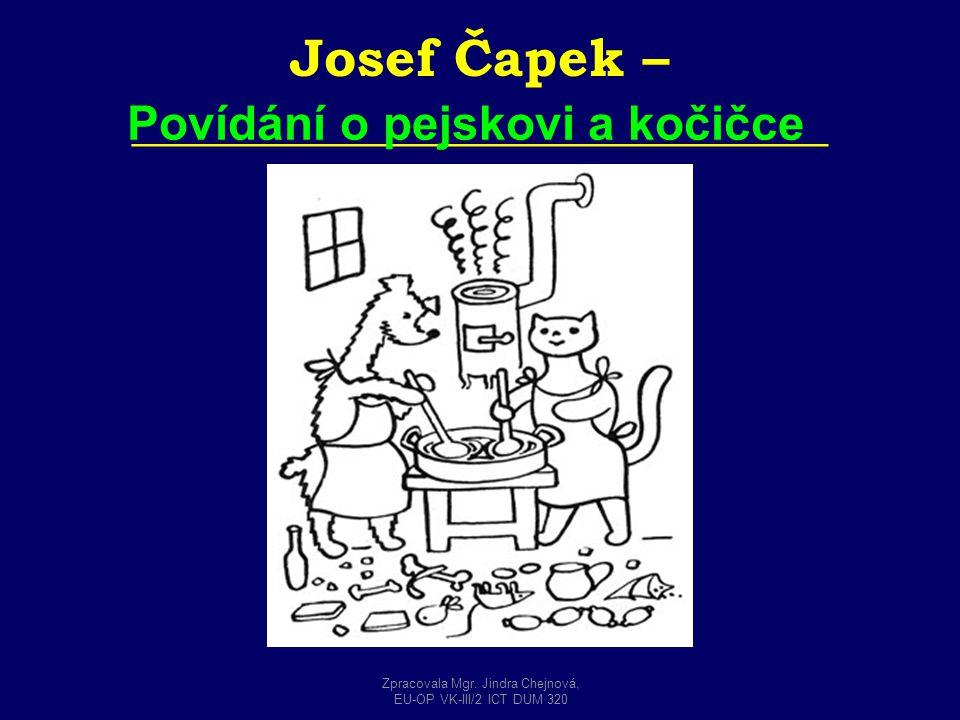 Josef Čapek – __________________________