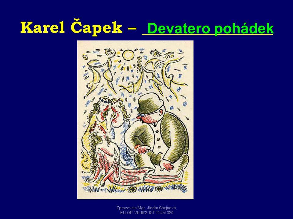 Karel Čapek – ________________