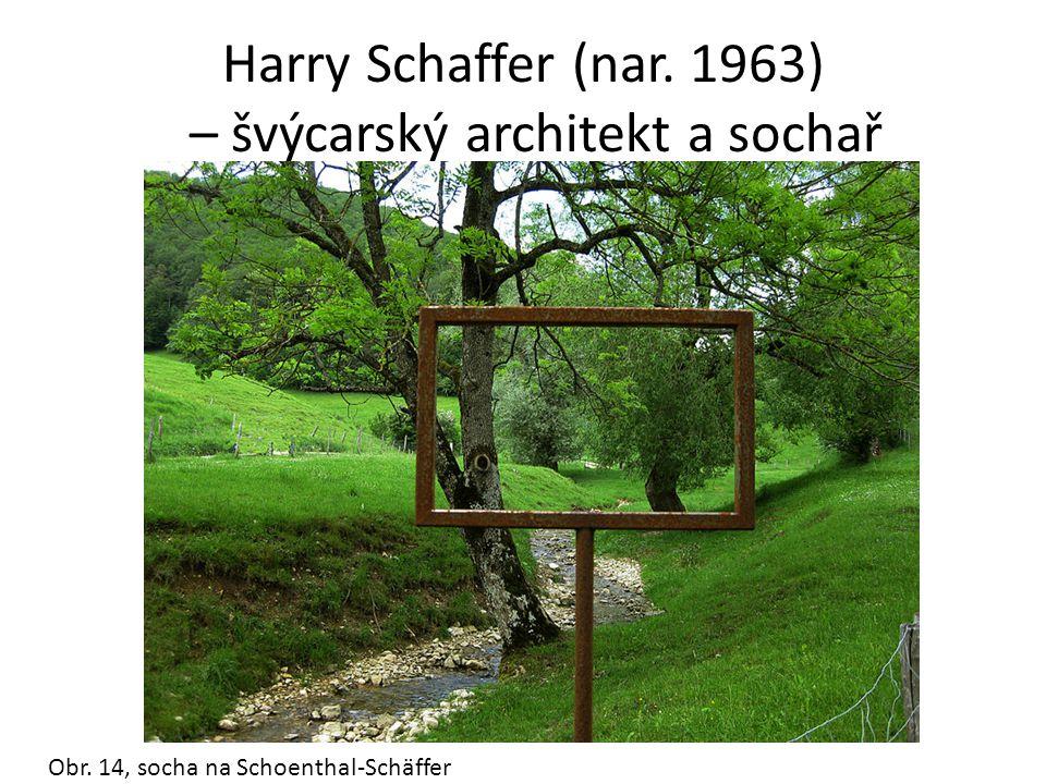 Harry Schaffer (nar. 1963) – švýcarský architekt a sochař