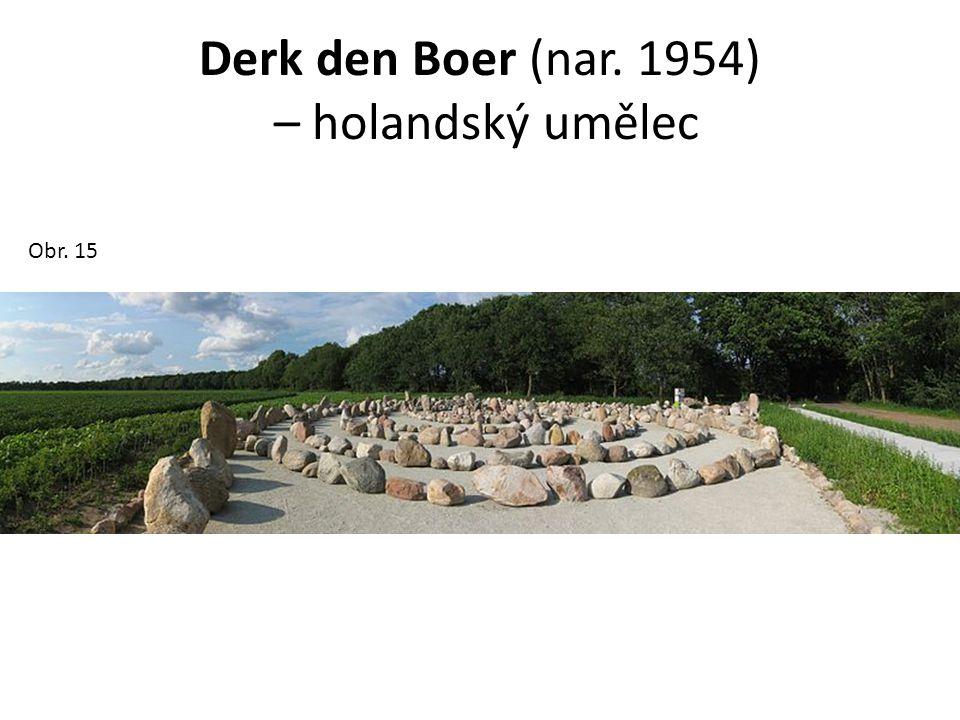 Derk den Boer (nar. 1954) – holandský umělec