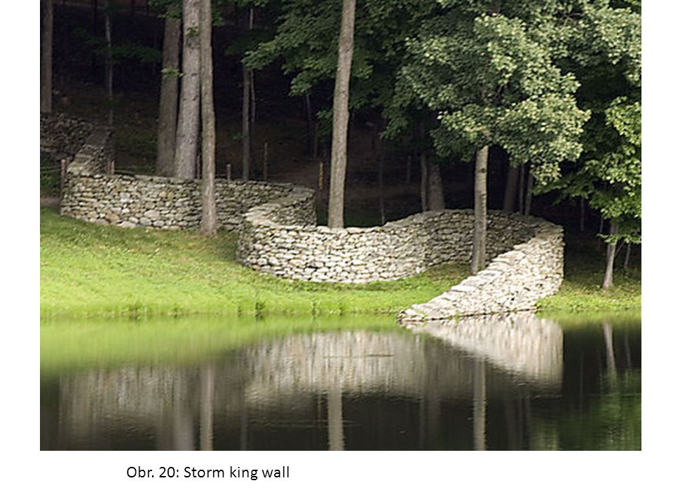 Obr. 20: Storm king wall