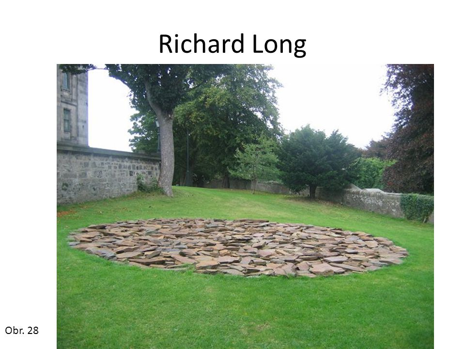 Richard Long Obr. 28