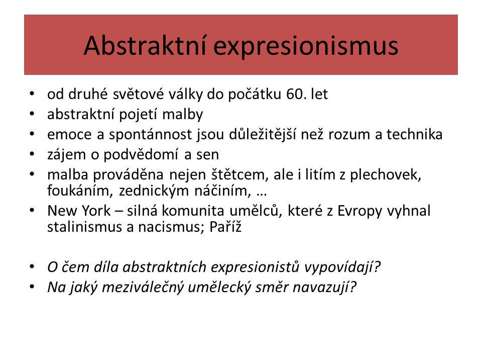 Abstraktní expresionismus