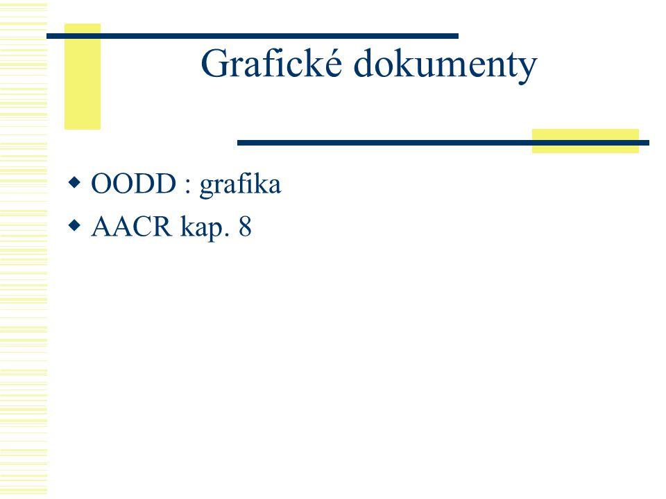 Grafické dokumenty OODD : grafika AACR kap. 8