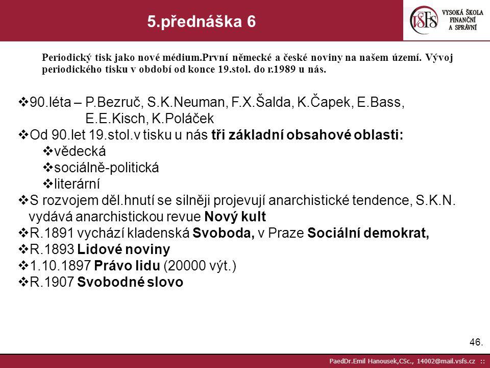 5.přednáška 6