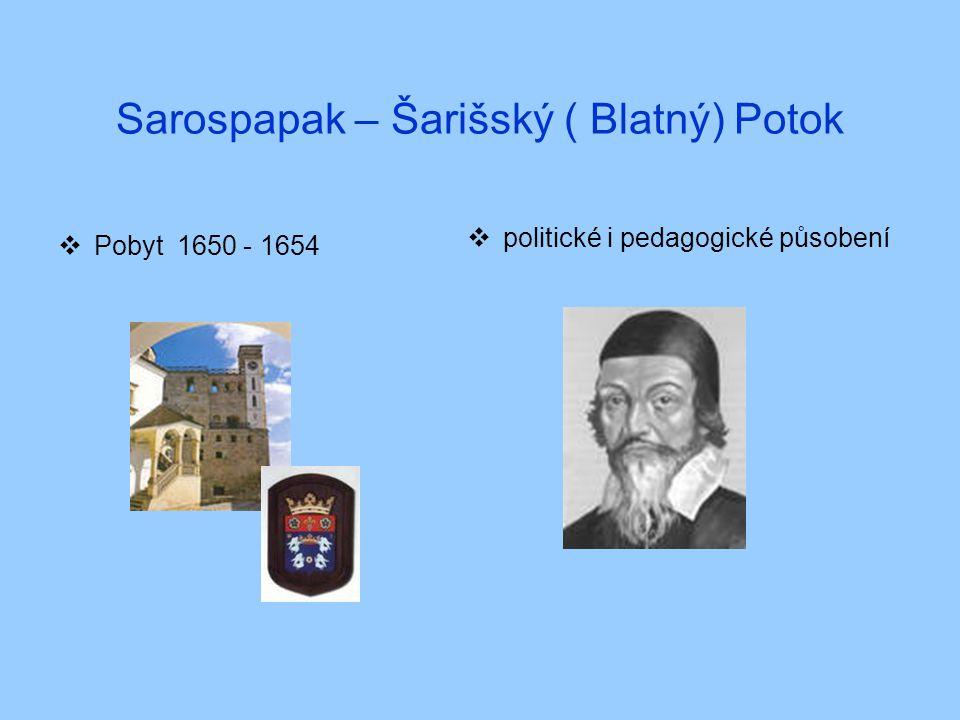 Sarospapak – Šarišský ( Blatný) Potok