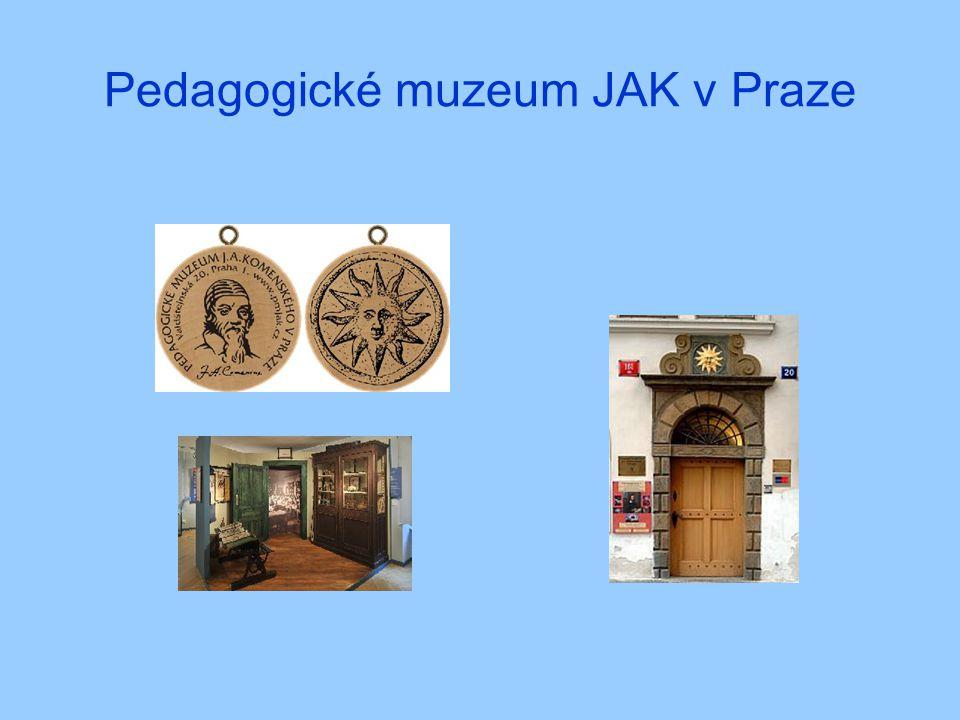 Pedagogické muzeum JAK v Praze