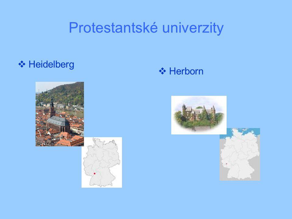 Protestantské univerzity