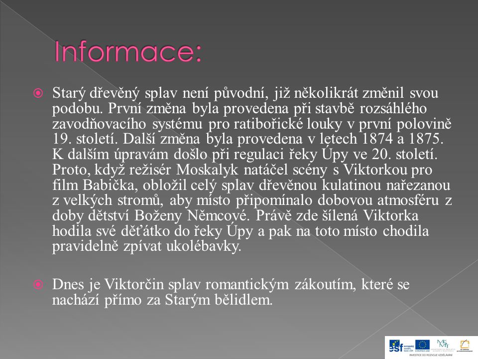 Informace: