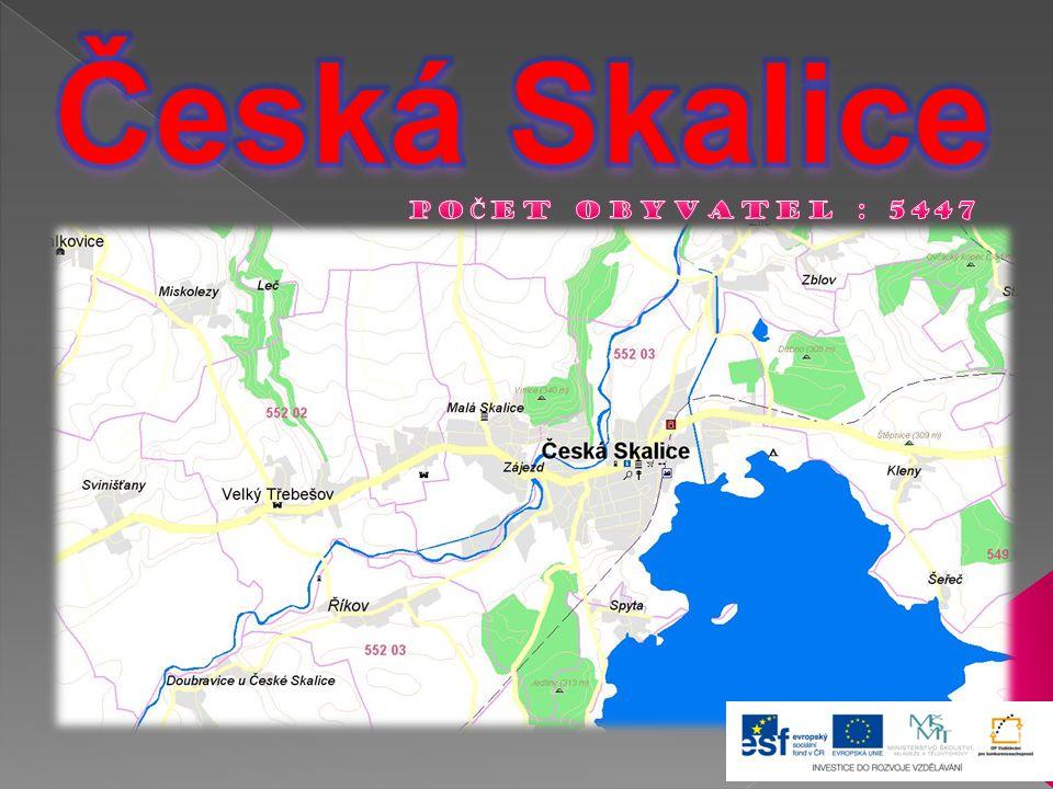 Česká Skalice POČET OBYVATEL : 5447
