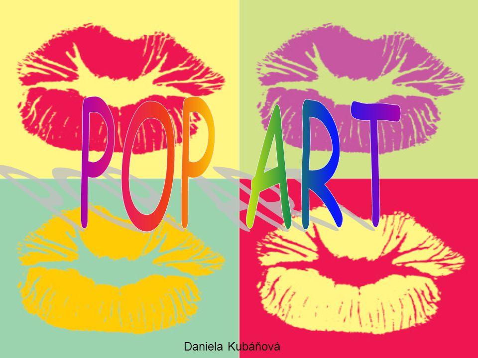 POP ART Daniela Kubáňová