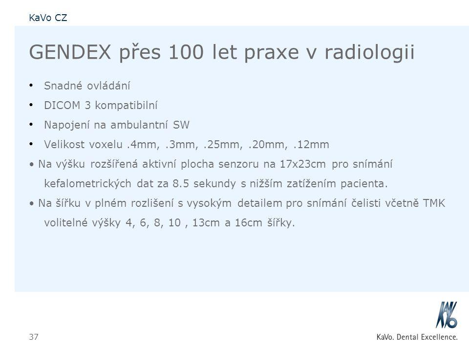 GENDEX přes 100 let praxe v radiologii
