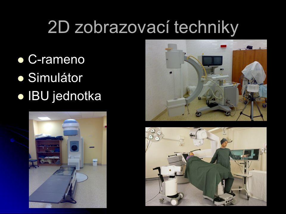 2D zobrazovací techniky