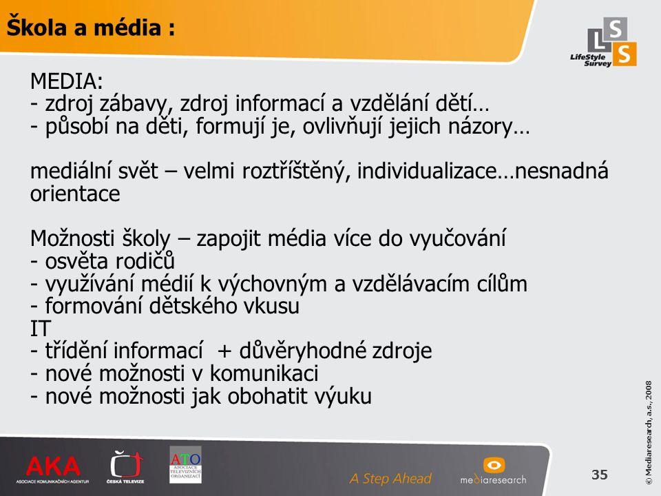 Škola a média :