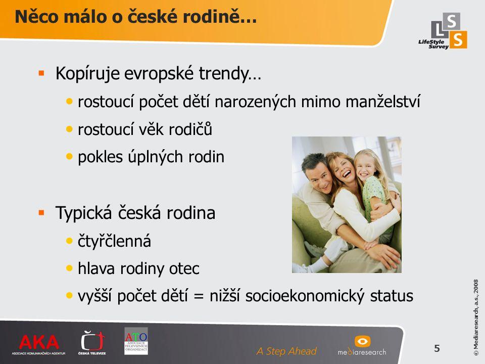 Něco málo o české rodině…