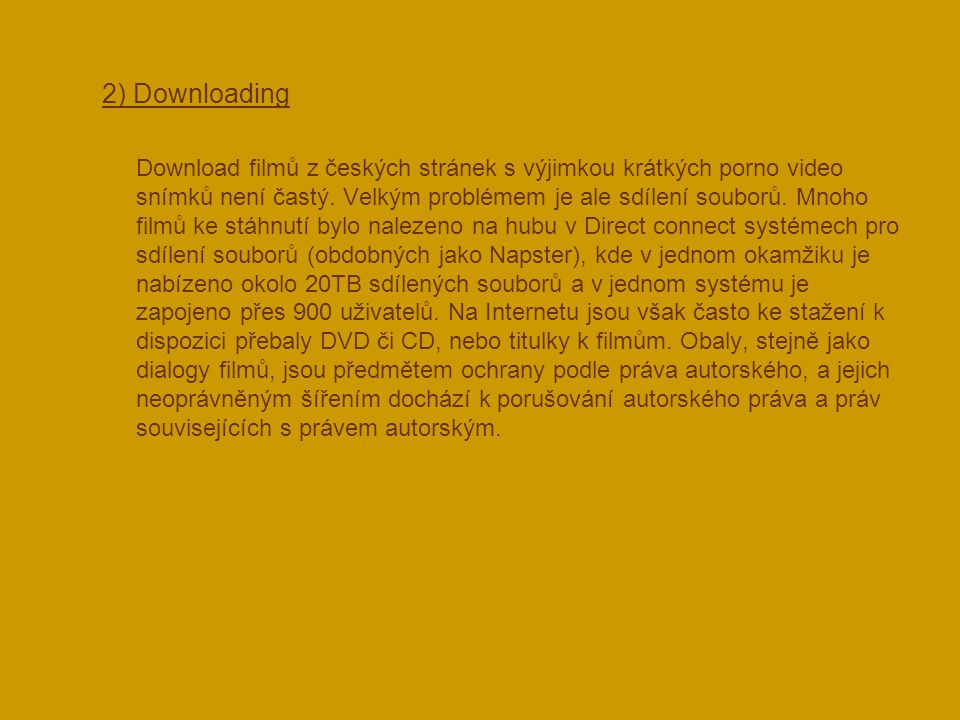 2) Downloading