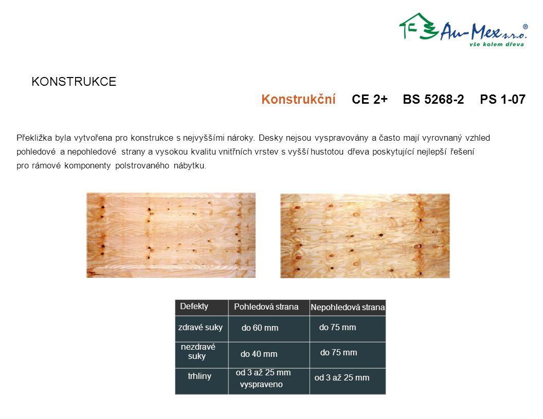 Konstrukční CE 2+ BS 5268-2 PS 1-07