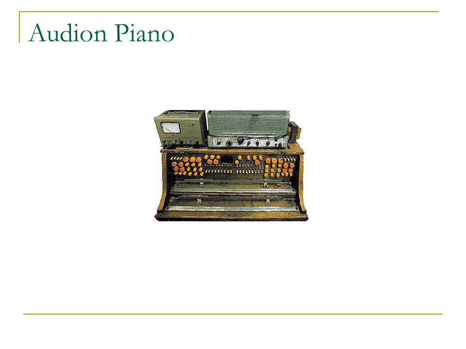 Audion Piano