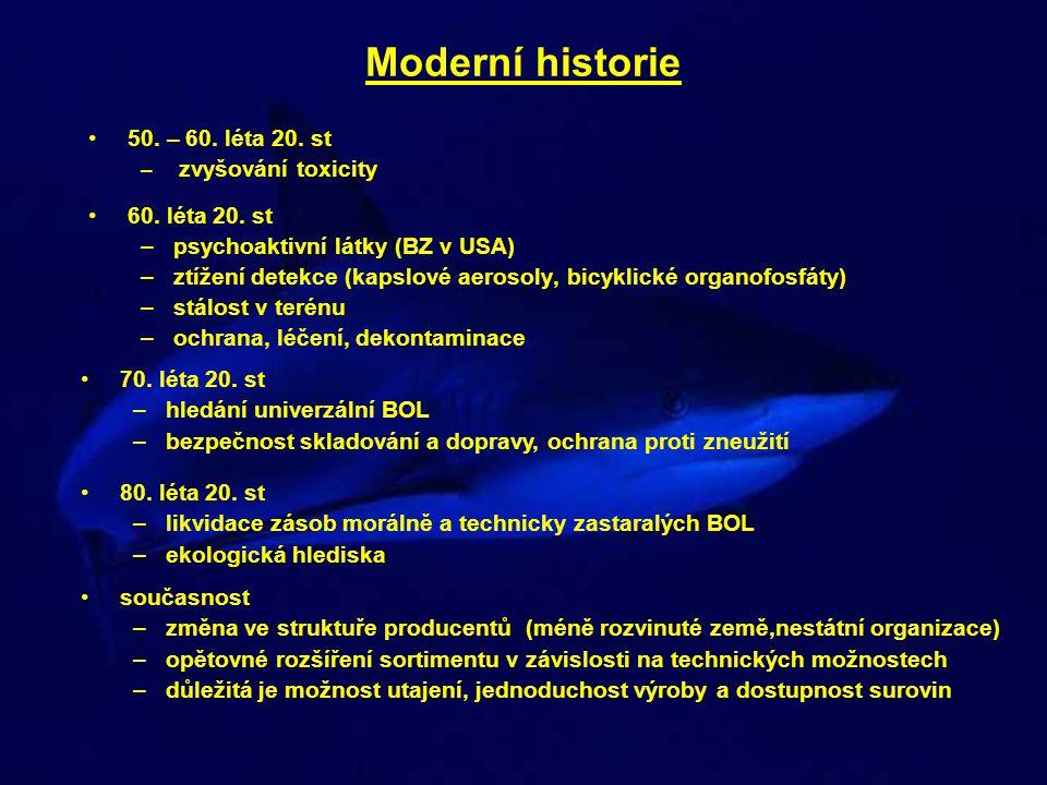 Moderní historie 50. – 60. léta 20. st 60. léta 20. st