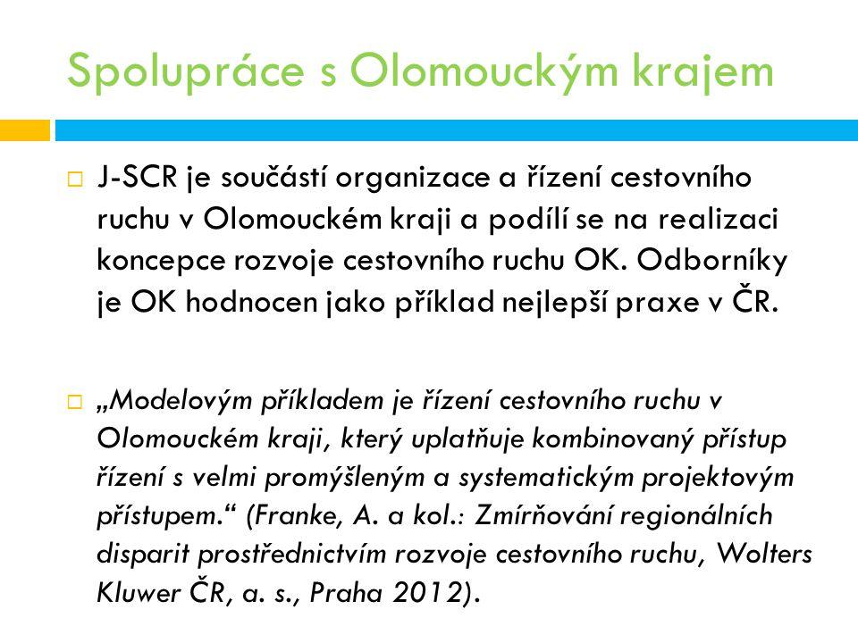 Spolupráce s Olomouckým krajem
