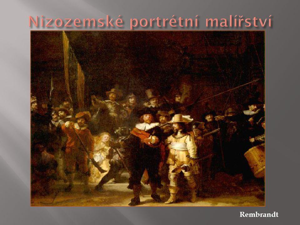 Nizozemské portrétní malířství