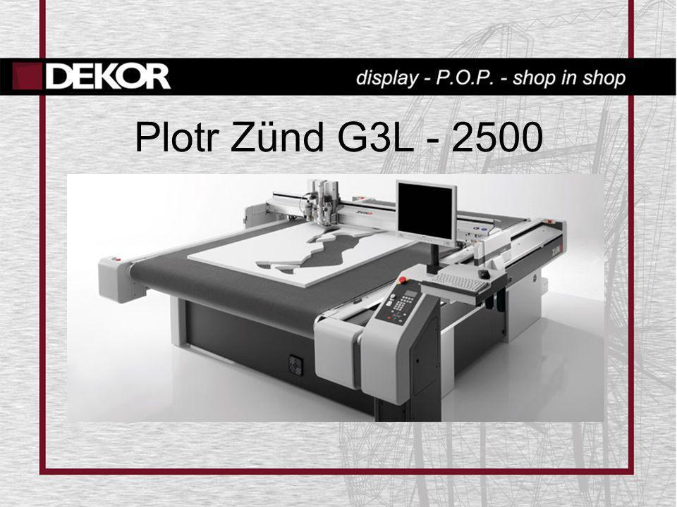 Plotr Zünd G3L - 2500
