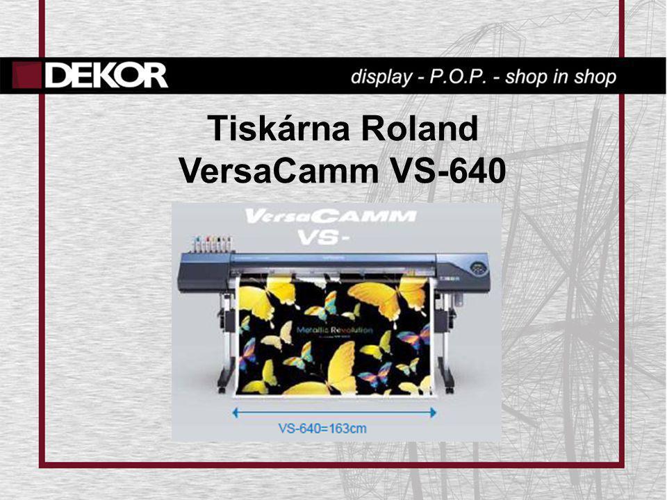 Tiskárna Roland VersaCamm VS-640