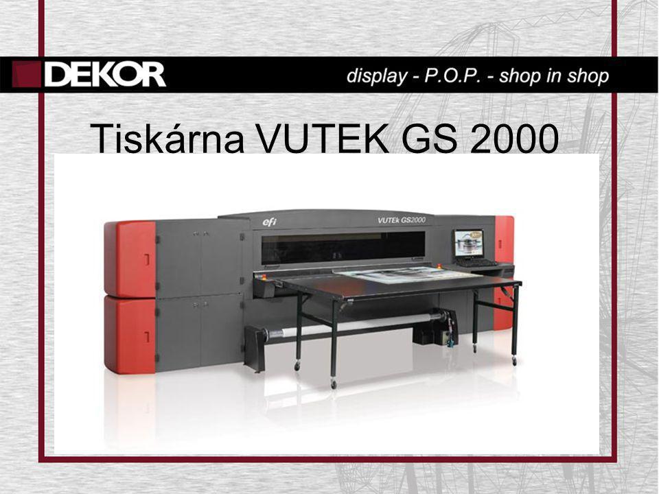Tiskárna VUTEK GS 2000