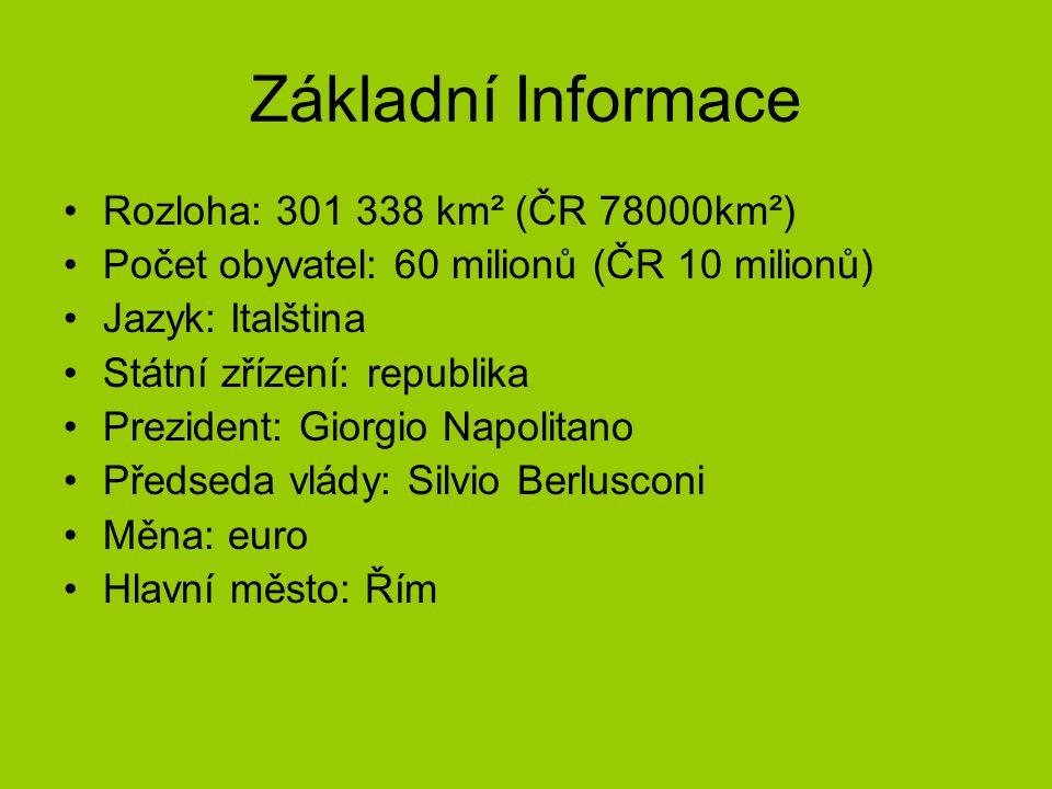 Základní Informace Rozloha: 301 338 km² (ČR 78000km²)