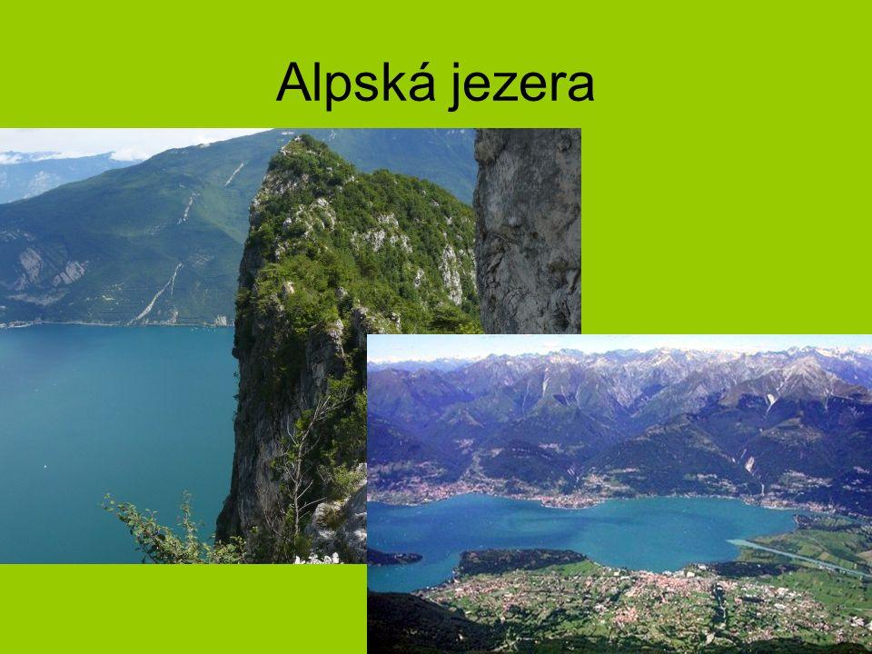 Alpská jezera