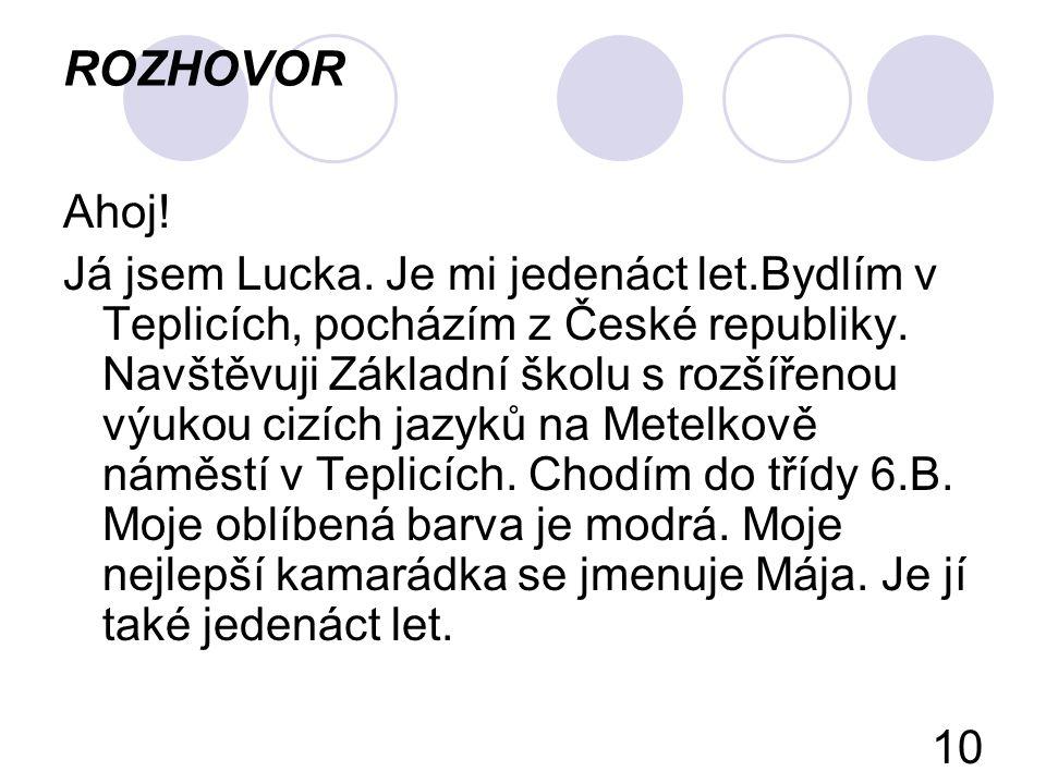ROZHOVOR