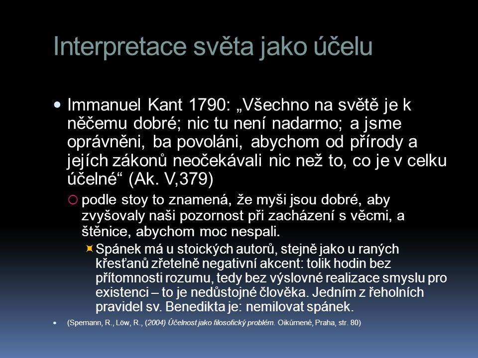 Interpretace světa jako účelu