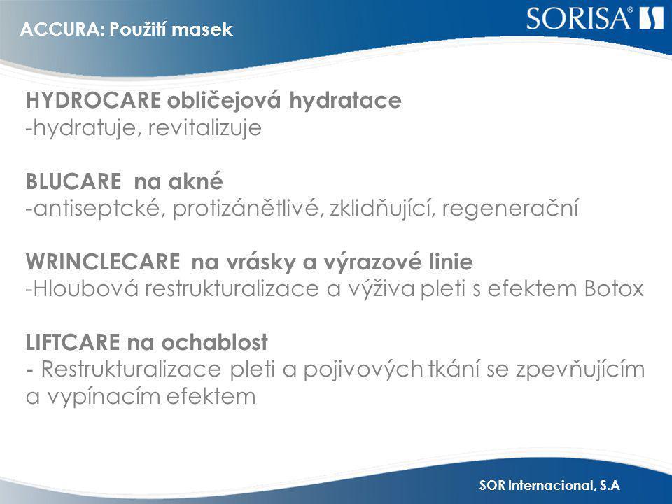 HYDROCARE obličejová hydratace -hydratuje, revitalizuje