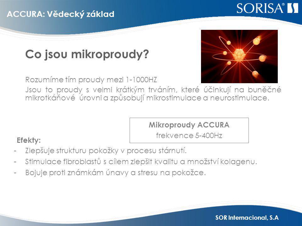 Mikroproudy ACCURA frekvence 5-400Hz