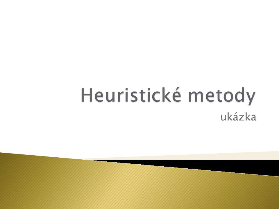 Heuristické metody ukázka