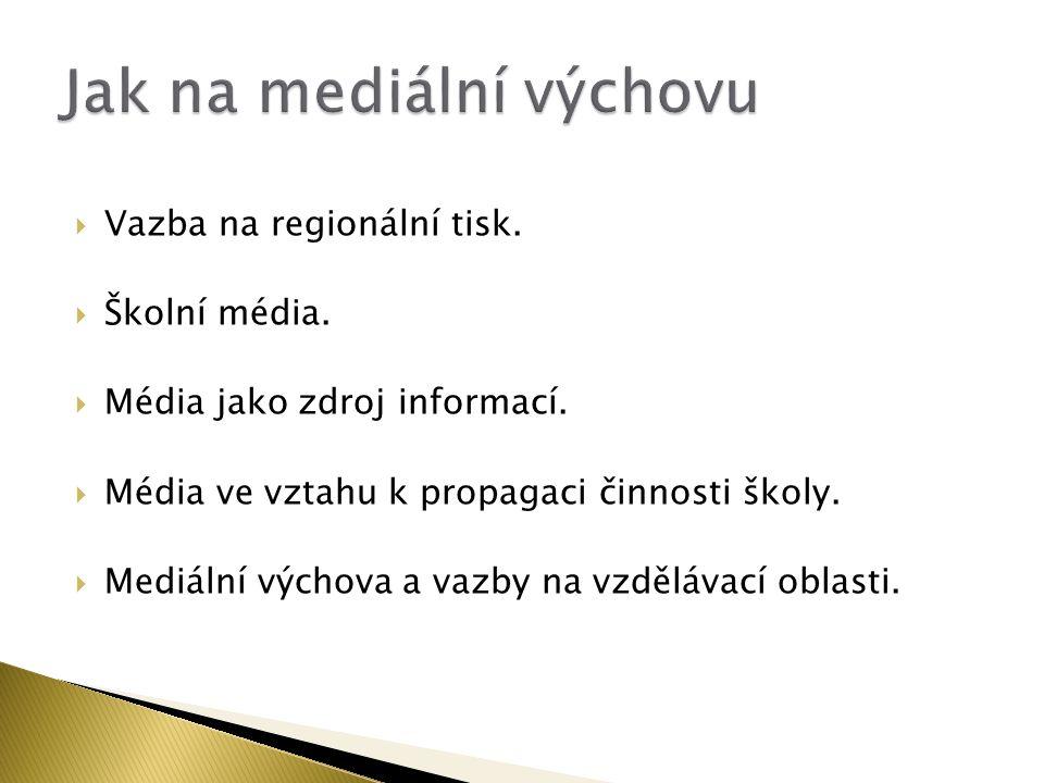 Jak na mediální výchovu