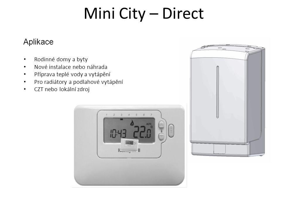 Mini City – Direct Aplikace Rodinné domy a byty