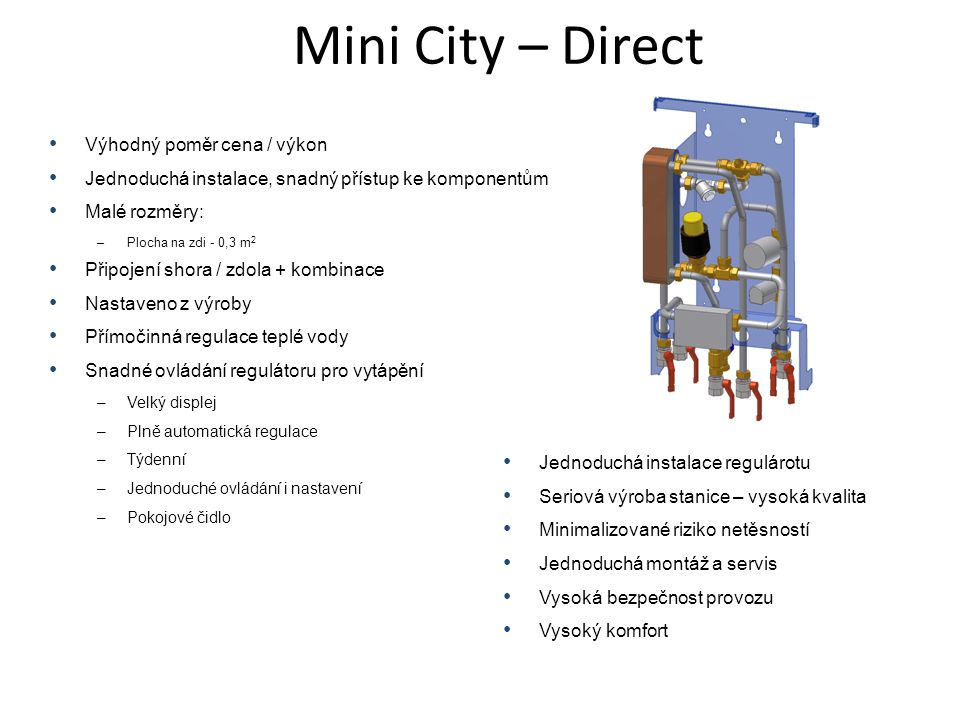 Mini City – Direct Výhodný poměr cena / výkon