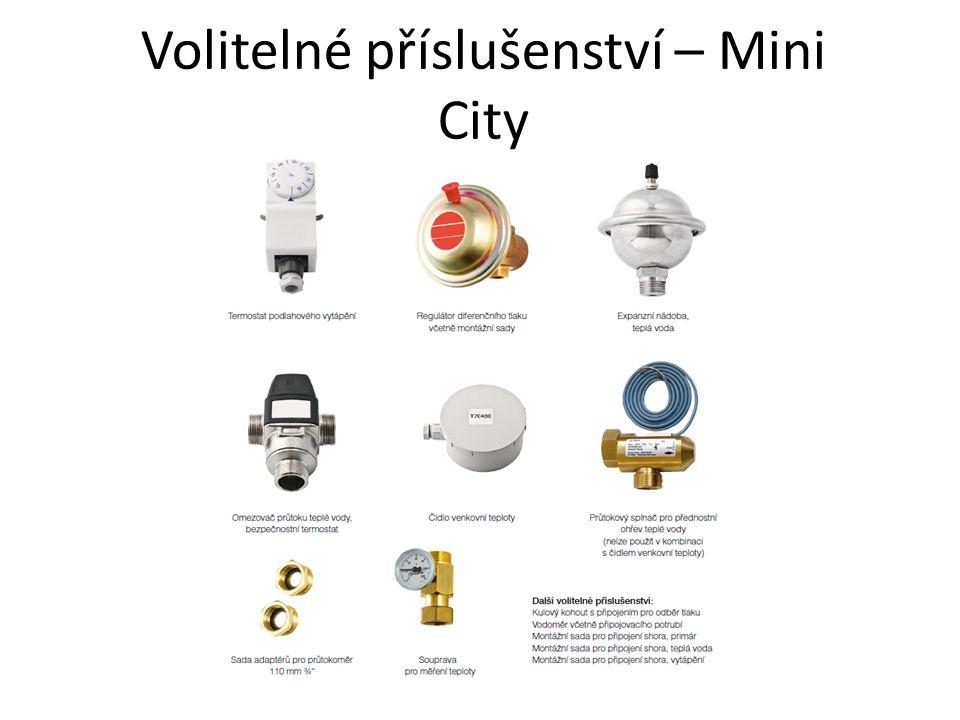 Volitelné příslušenství – Mini City