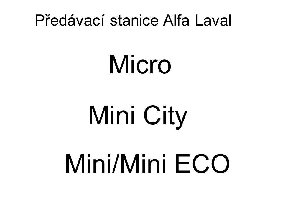 Předávací stanice Alfa Laval