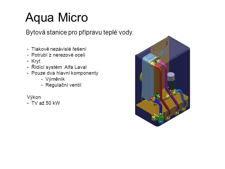 Aqua Micro Bytová stanice pro přípravu teplé vody.