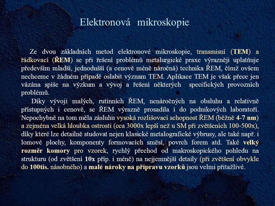 Elektronová mikroskopie