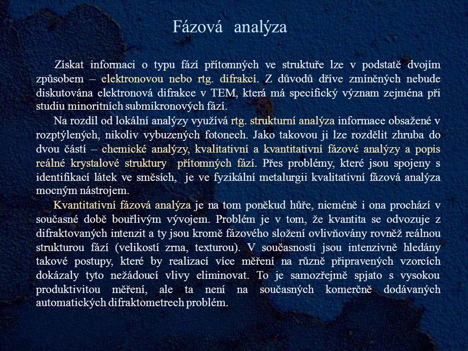 Fázová analýza
