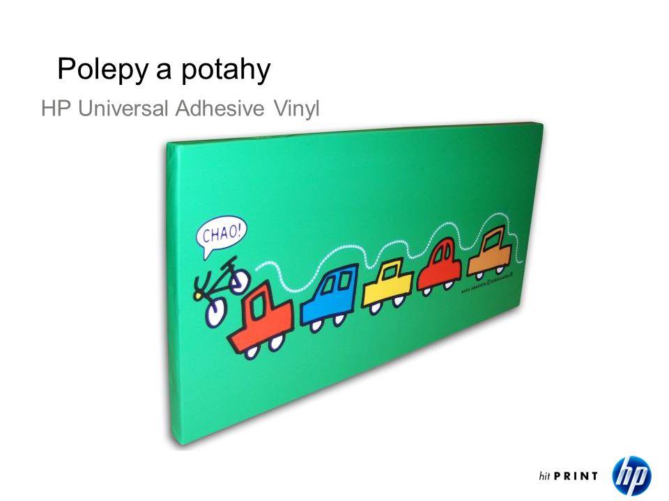 Polepy a potahy HP Universal Adhesive Vinyl