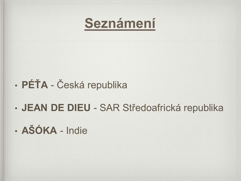 Seznámení PÉŤA - Česká republika